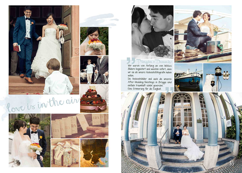 Pinyin liebt Dennis | Hochzeitsreportage Rosenschule Ruf Bad Nauheim | After Wedding Shooting Brügge