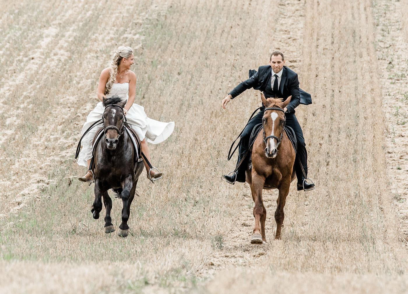 After Wedding Shooting mit Pferden | Anna und Matthias ♥