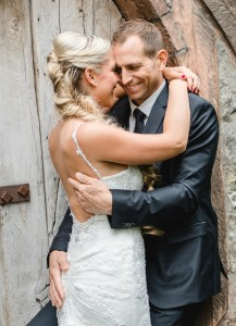 Brautpaar Umarmung