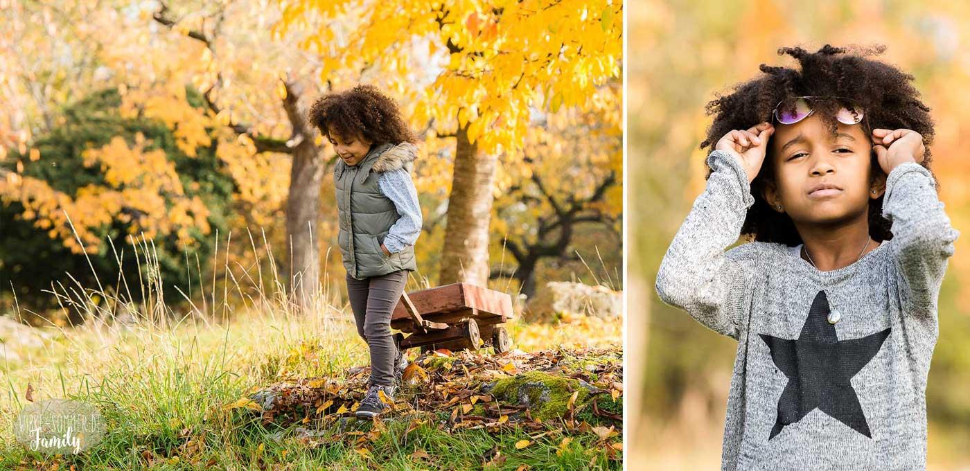 Herbstliches Familienshooting in der Natur